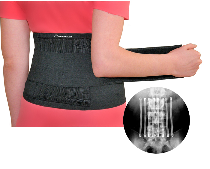 Пояс для спины, Adjustable Back Brace Pharmacels (Фармацельс)