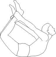 Гимнастика для спины поза натянутого лука