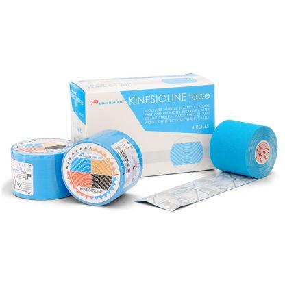 KINETICLINE Tape - голубой кинезио тейп коробка