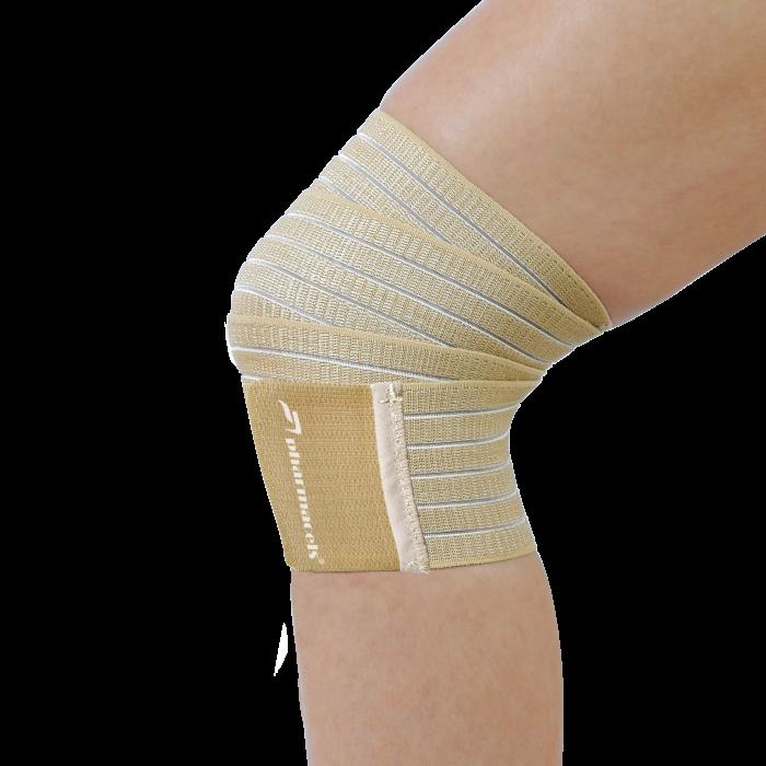 Эластичный ленточный фиксатор для колена