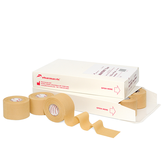 MASTERS Tape Colored Pharmacels бежевый в упаковке Slim pack