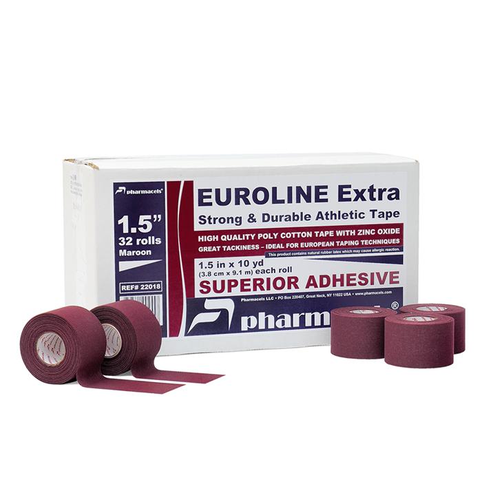EUROLINE Extra Tape maroon в командной упаковке