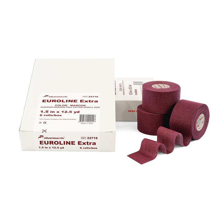 EUROLINE Extra Tape maroon в упаковке Slim pack