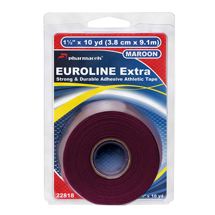 EUROLINE Extra Tape maroon в розничной упаковке