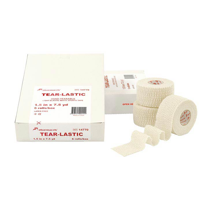 TEAR-LASTIC Tape white Pharmacels в упаковке Slim pack