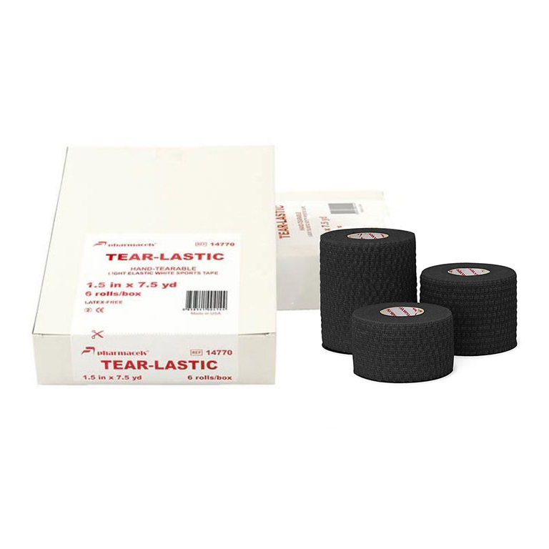 TEAR-LASTIC Tape black Pharmacels в упаковке Slim pack