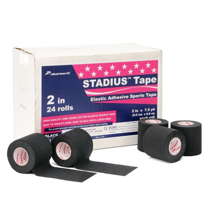 STADIUS Tape black Pharmacels в командной упаковке
